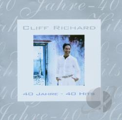 Richard, Cliff - 40 Jahre 40 Hits CD Cover Art
