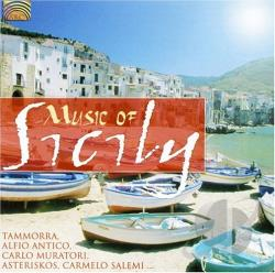 Music of Sicily CD Cover Art