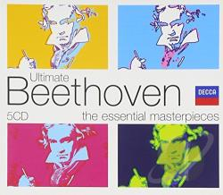 Ultimate Beethoven CD Cover Art