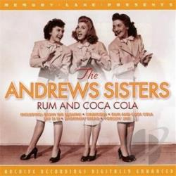 Andrews Sisters - Rum & Coca Cola CD Cover Art