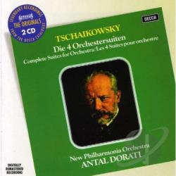 Dorati / New Philharmonia Orch - Tchaikovsky: Four Suites for Orchestra CD Cover Art