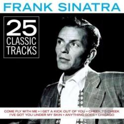 Sinatra, Frank - 25 Classic Tracks CD Cover Art