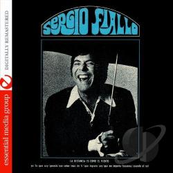Sergio Fiallo - La Distancia Es Como el Viento CD Cover Art