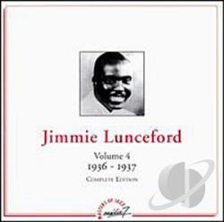 Lunceford, Jimmie - Volume 4: 1936-1937 CD Cover Art