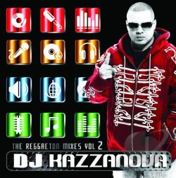 Kazzanova, DJ - DJ Kazzanova: The Reggaeton Mixes Vol.2 CD Cover Art