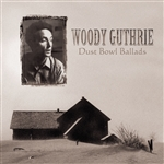 Guthrie, Woody - Dust Bowl Ballads CD Cover Art