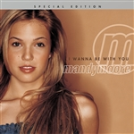 Moore, Mandy - I Wanna Be With You CD Cover Art