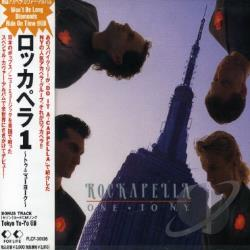Rockapella - Rockapella 1 (To N.Y.) CD Cover Art