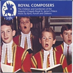Byrd / Gibbons / Popplewell / Purcell - Royal Composers CD Cover Art