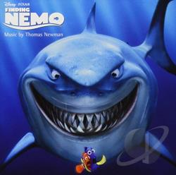 Tom Newman - Finding Nemo CD Cover Art