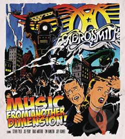 Aerosmith - Music From Another Dimension! CD Cover Art