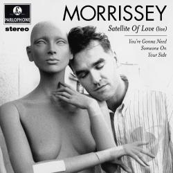 Morrissey - Satellite of Love 12 Cover Art