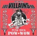 Los Villains 99 - Punk Rock Pow Wow CD Cover Art