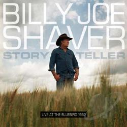 Shaver, Billy Joe - Storyteller: Live at the Bluebird CD Cover Art
