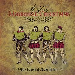 Lakeland Madrigals - Very Madrigal Christmas CD Cover Art