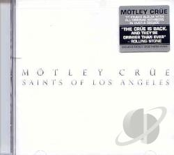 Motley Crue - Saints of Los Angeles CD Cover Art