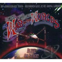 Wayne, Jeff - War of the Worlds: Alive on Stage CD Cover Art