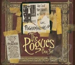 Pogues - Just Look Them Straight In The Eye & Say Pogue.. CD Cover Art