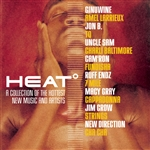 Heat: A Collection Of The Hottest New Music And Artists. CD Cover Art