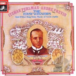 Perlman, Itzhak / Previn, Andre - Scott Joplin: The Easy Winners CD Cover Art