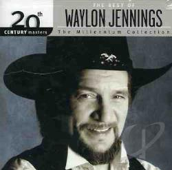Jennings, Waylon - 20th Century Masters - The Millennium Collection: The Best of Waylon Jennings CD Cover Art