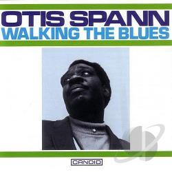 Spann, Otis - Walking the Blues CD Cover Art