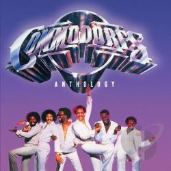 Commodores - Anthology CD Cover Art