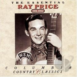 Price, Ray - Essential Ray Price (1951-1962) CD Cover Art