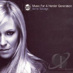Savage, Britt - Music 4 A Harder Generation CD Cover Art