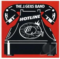 J. Geils Band - Hotline CD Cover Art