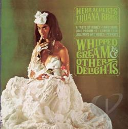 Alpert, Herb / Tijuana Brass - Whipped Cream & Other Delights CD Cover Art