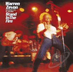 Zevon, Warren - Stand in the Fire CD Cover Art