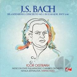 Bach, Johann Sebastian - Brandenburg Concerto No. 3 In G Major CD Cover Art