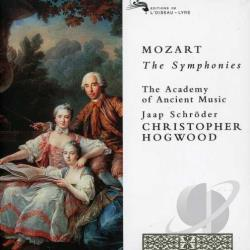 Aam / Hogwood / Mozart / Schroder - Mozart: The Symphonies CD Cover Art