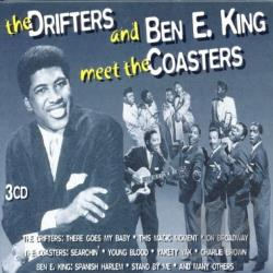 Coasters / Drifters / King, Ben E. - Drifters and Ben E. King Meet the Coasters CD Cover Art