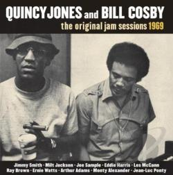 Cosby, Bill / Jones, Quincy - Original Jam Sessions 1969 CD Cover Art