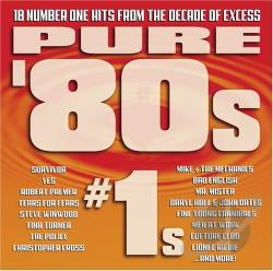Pure '80s: #1s CD Cover Art