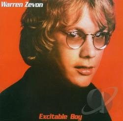 Zevon, Warren - Excitable Boy CD Cover Art