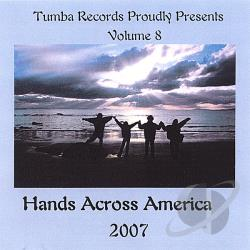 Compilation CD - Hands Across America 2007 Vol.8 CD Cover Art