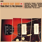 Starr, Thom & The Galaxies - South Side Surf: Anthology 1963-1964 CD Cover Art