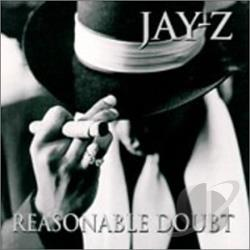 Jay-Z - Reasonable Doubt CD Cover Art