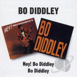 Diddley, Bo - Hey! Bo Diddley/Bo Diddley CD Cover Art