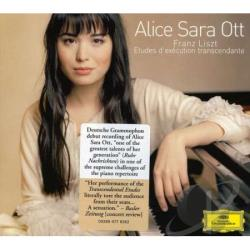 Ott, Alice Sara - Liszt: Etudes d'execution transcendante CD Cover Art