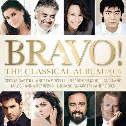 Bravo!: The Classical Album 2014 CD Cover Art
