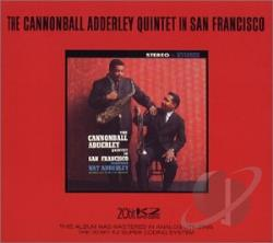 Adderley, Cannonball - In San Francisco CD Cover Art