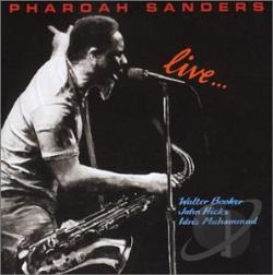 Sanders, Pharoah - Live CD Cover Art
