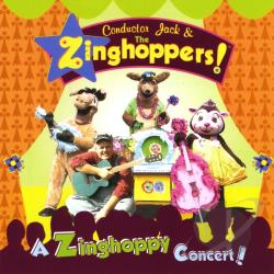 Conductor Jack and the Zinghoppers - A Zinghoppy Concert CD Cover Art