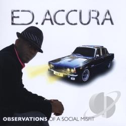 Ed Accura - Observations Of A Social Misfit CD Cover Art