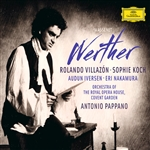 Koch / Massenet / Pappano / Royal Opera / Villazon - Massenet: Werther CD Cover Art