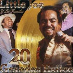 Little Joe & La Familia - 20 Grandes Exitos CD Cover Art